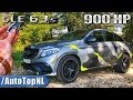 900hp Gle 63 S Amg Coupe Review Pov Test Drive On Autobahn & Road By Autotopnl