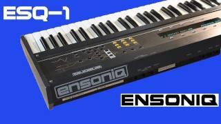 ENSONIQ ESQ-1 Synth 1986   DEMO