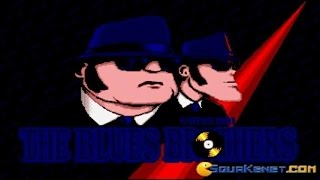 Blues Brothers gameplay (PC Game, 1991)