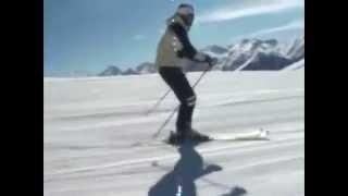 Урок№ 3 Видео как научиться кататься на горных лыжах