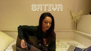 SATIVA // Jhené Aiko ft. Swae Lee (Acoustic Cover by Teri Eloise)
