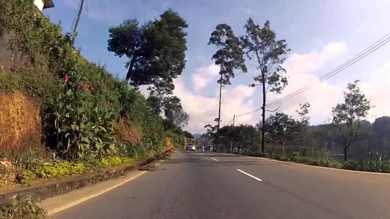 Дороги на Шри-Ланке