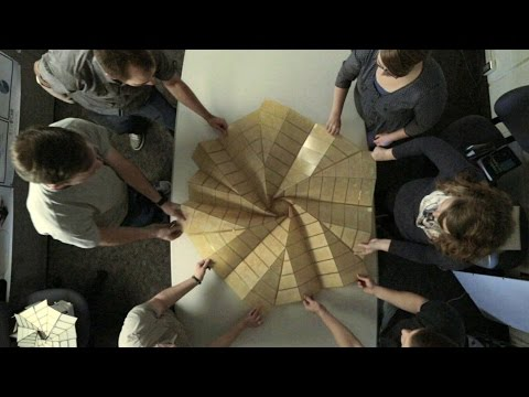 Science of Innovation: Origami Structures