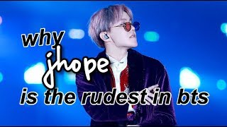 Video Why J-Hope is the Rudest Member of BTS download MP3, 3GP, MP4, WEBM, AVI, FLV April 2018