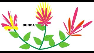 Tutorial Corel Draw #4 Cara Membuat gambar Bunga paling mudah dan sederhana