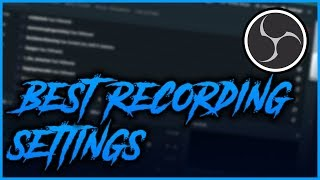 Best OBS Studio Recording Settings 2018/2019 (High Quality, No lag, 1080p 60fps)