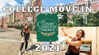 college move-in vlog + room tour!! | the culinary institute of america 2021