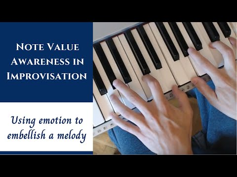 Note Value Awareness - Taking a Melody and Using Emotion to Add Chords