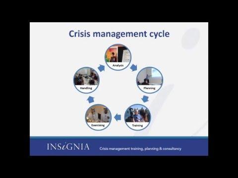 WEBINAR - CRISIS MANAGEMENT: CREATING A CRISIS RESISTANT CULTURE