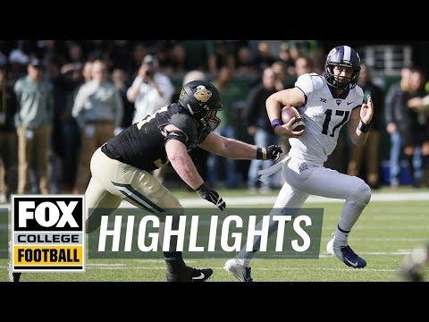 Baylor vs. TCU | FOX COLLEGE FOOTBALL HIGHLIGHTS