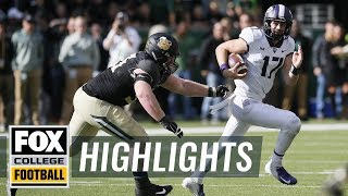 Baylor vs. TCU | FOX COLLEGE FOOTBALL HIGHLIGHTS