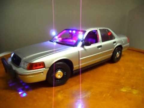 1/18 Silver Unmarked Trooper POLICE Unit WWW.PO-LIGHT.COM