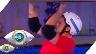 Duell: Johannes und Umut im Bootcamp | Tag 9 | Promi Big Brother 2018 | SAT.1