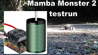 Traxxas Monster Slash [] TEST: castle creations mamba monster 2 set