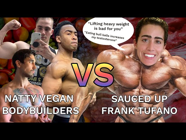 HERE'S WHY FRANK TUFANO IS ON STEROIDS! - Vegan Bodybuilder's Critique Frank Tufano's Workouts
