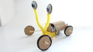 How To Make a Walking Robot Bug From Cardboard    DIY