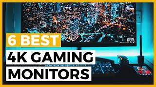 Top 6 best 4k gaming monitors ✨ benq pd3200u - https://geni.us/f56jdn6 acer predator x27 https://geni.us/m0bjq el2870u https://geni.us/pbzc ac...