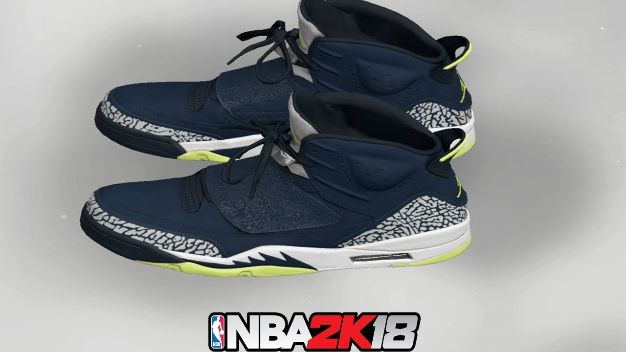 separation shoes 9af27 344ad discount code for nba 2k18 shoe creator nba2k18 jordan son of mars armory  navy ea445 cc8b3