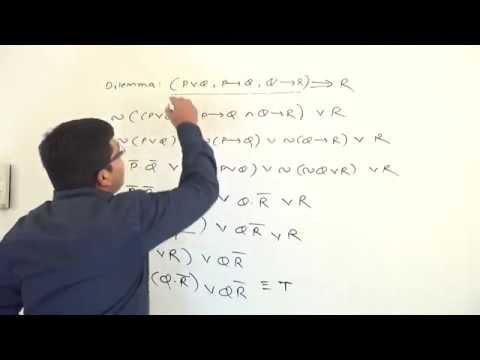 GATE - Maths - Propositional Logic - Logical Consequences - Dilemma