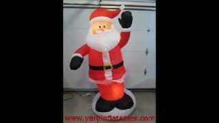 Gemmy Animated Airblown Inflatable Dancing Santa