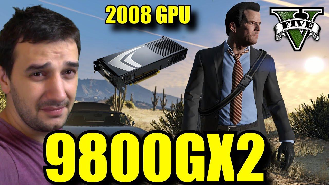 9800 GX2 | GTA V Online Gameplay 1080 vs 720 FPS