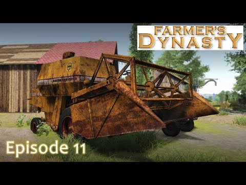 Farmer's Dynasty - Episode 11 - Soybean Harvest