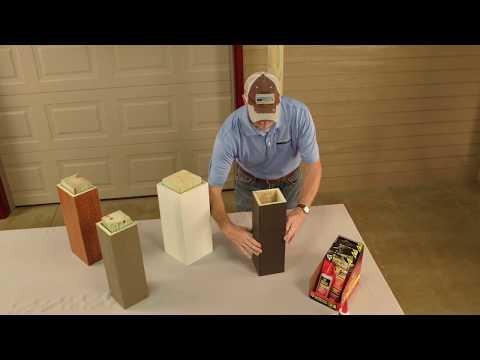 Diamond Kote Pro-Post Wrap Installation | Built On LP SmartSide