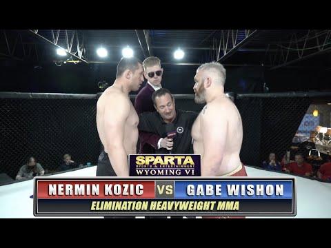 Sparta WY6 Nermin Kozic v Gabe Wishon