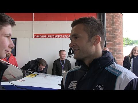 COLIN TURKINGTON - SILVERLINE SUBARU TEAMBMR - BTCC BRANDS HATCH GP 2016