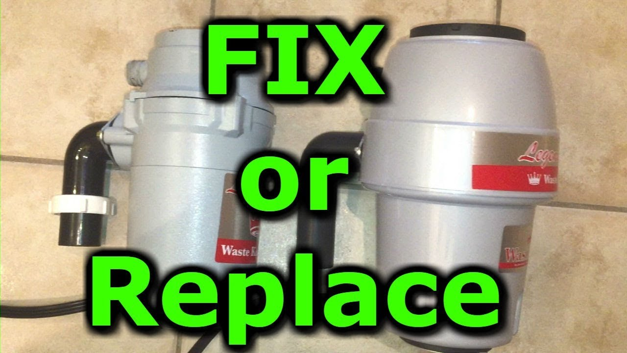 garbage disposal removal and replacement installation if disposer not working waste king youtube. Black Bedroom Furniture Sets. Home Design Ideas