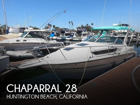 Used 1992 Chaparral Signature 28 For Sale In Huntington Beach, California