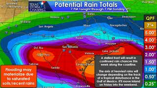 September 11, 2018 4:30 PM CT | Tropical Weather & Flood Threat Briefing