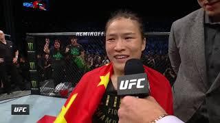 UFC Шэньчжэнь: Жанг vs Андрадэ - Слова после боя