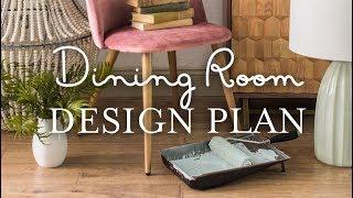 Dining Room Design Plan: Riverside Retreat