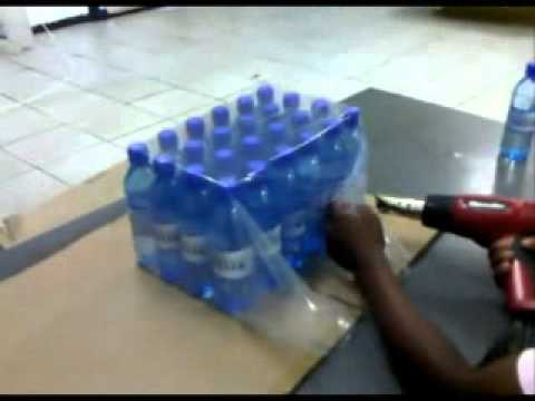 PW Bottle Wrapping