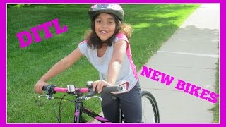 DITL - New Bikes For The Girls! May 22nd, 2015