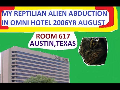 My OBE/3D Abduction by Reptilian Alien at OMNI HOTEL  Texas 2006YR