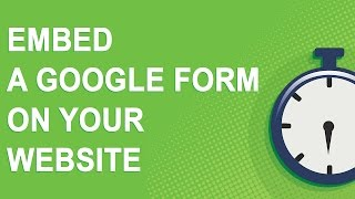 Embed a Google Form on your website (NO YOUTUBE ADS)