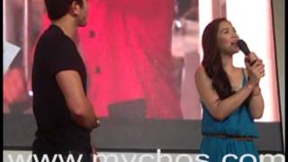 MYCHOS presents 247 IN LOVE MAJA and GERALD on DAVAO Mall Show Part 1