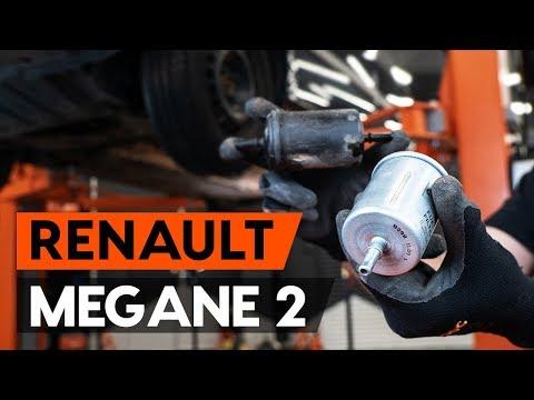 Как заменить топливный фильтр наRENAULT MEGANE 2 (LM) [ВИДЕОУРОК AUTODOC]