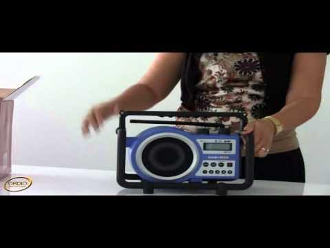 Sangean Dab+ Box Utility Digital Radio