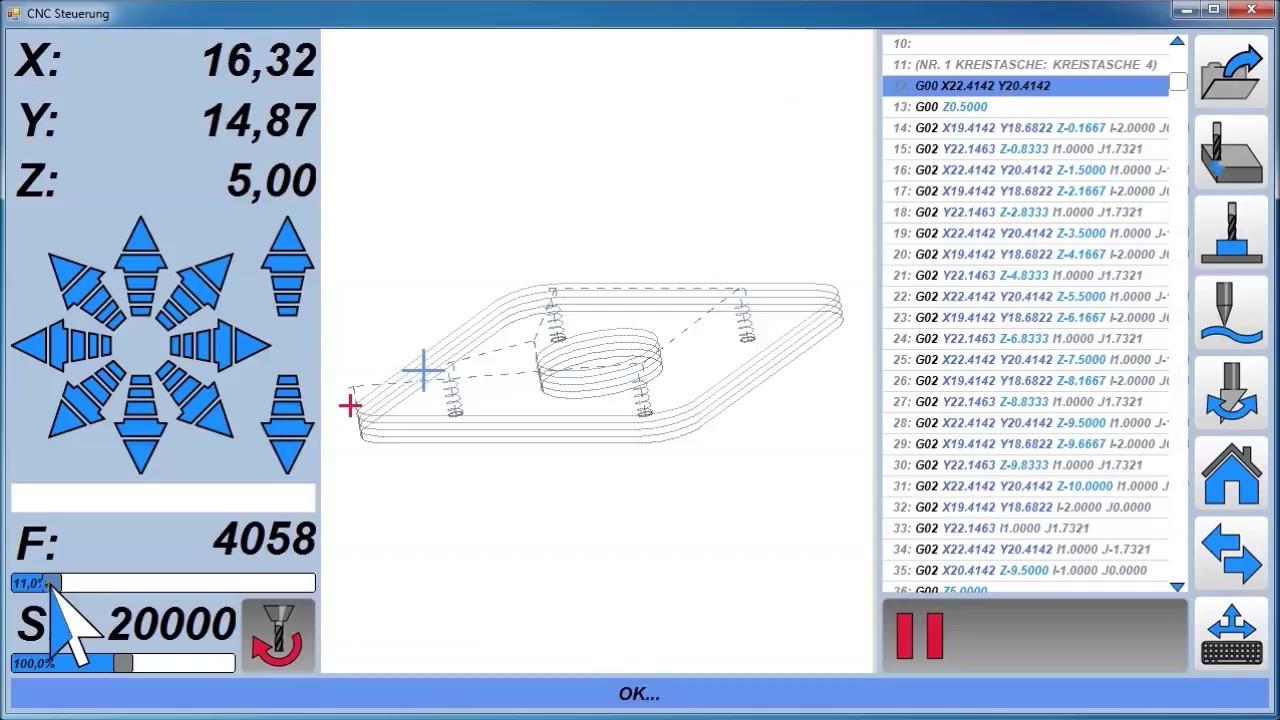 Estlcam V11 CNC Steuerung