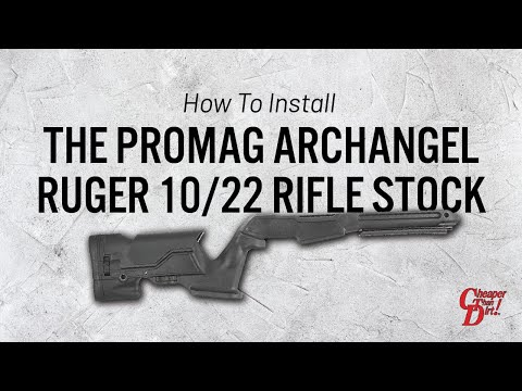 How to Install the ProMag Archangel Ruger 10/22 Rifle Stock