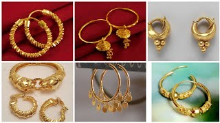Top Trending Out Class Gold Earrings,Tops/ Latest Collection of Gold Jewellery