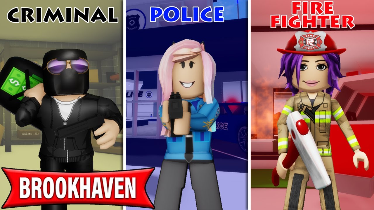 Download I roleplayed jobs in Brookhaven with Janet and Kate!   Roblox