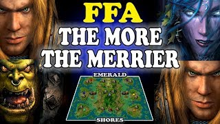 Grubby | Warcraft 3 TFT | 1.30 |  FFA on Emerald Shores - The More the Merrier