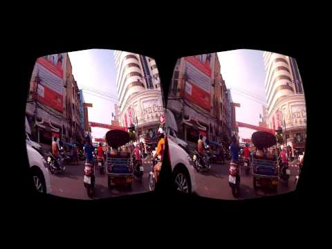 Motorbike ride in Bangkok City/ Thailand/  VR Edition/ 4k