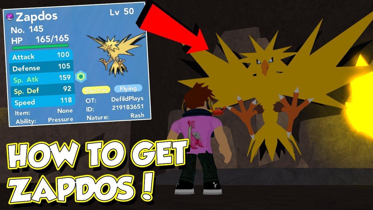 HOW TO GET ZAPDOS IN POKEMON BRICK BRONZE!! - YouTube