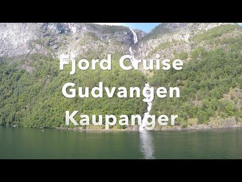 Fjord Cruise Gudvangen Kaupanger 2016 Travel Video