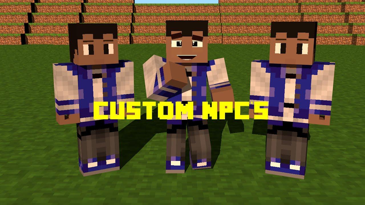 minecraft how to make custom npcs workbench